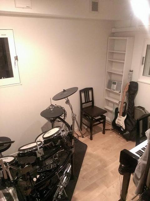お客さまよりお写真をいただきました。 器材も入り素敵なスタジオです。 ありがとうございました。