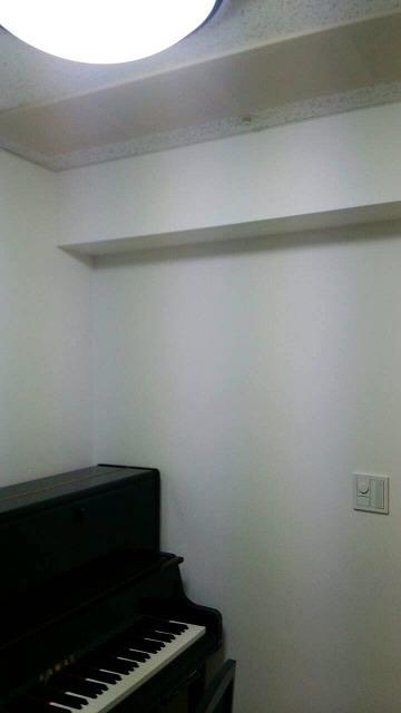 マンション5畳洋室を約4畳のピアノ室に改修工事します。