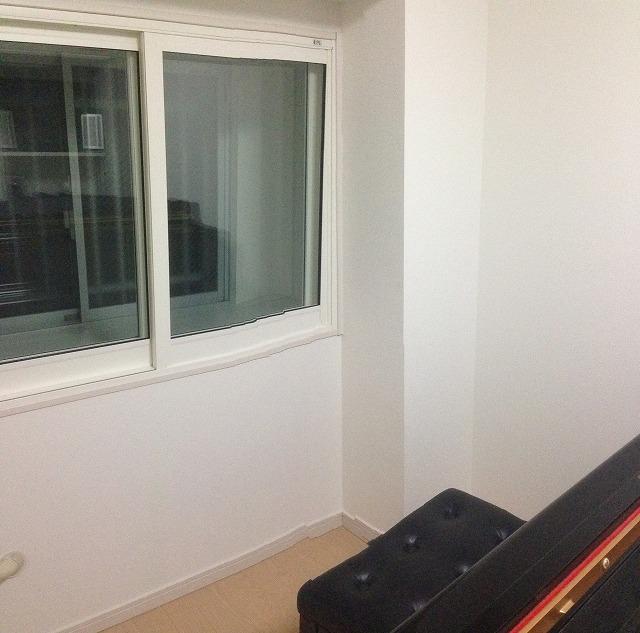 マンション5畳洋室をピアノ室に改修工事です。