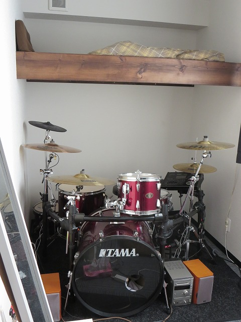 完成しドラムがはいりました!!