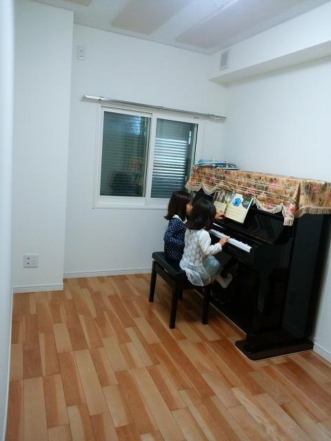 ピアノ搬入後にお客様からお写真をいただきました。