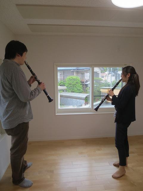 戸建住宅和室をクラリネット室に改修工事