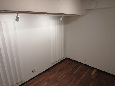 戸建住宅にリスニングルームを改修工事