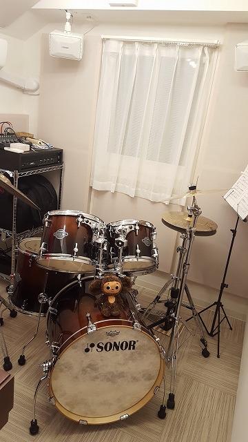 お客さまからドラムや機材搬入後のお写真をいただきました。 ありがとうございました。
