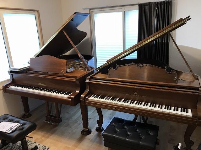 2台目のピアノが入ったお写真を頂きました。 弊社のお部屋も大好評と周りのみなさんに言っていただけているようで大変うれしく思います。 ありがとうございました。