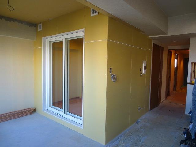 マンションにフルート室を改修ジョイント工事