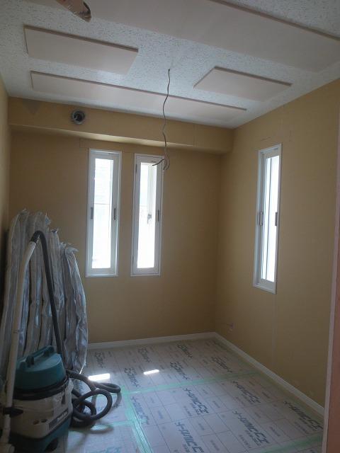 戸建住宅に声楽・ピアノ室を新築ジョイント工事