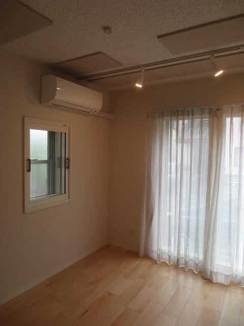 戸建住宅にマリンバ・ピアノ室を改修工事