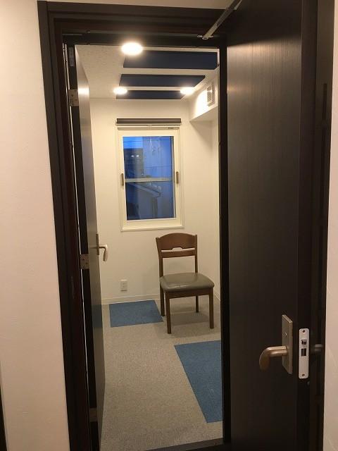 戸建住宅にヴァイオリン・チェロ室を改修工事