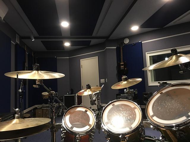 ドラム・レコーディングスタジオをリフォームジョイント工事
