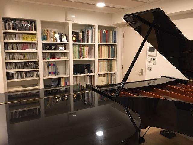 戸建住宅にピアノ室を改修ジョイント工事