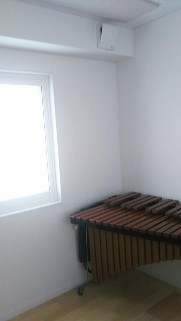 戸建住宅にフルート・トランペット・マリンバ室を改修工事