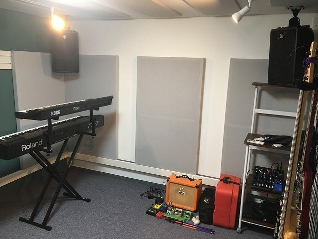 戸建住宅にバンド室を新築防音ジョイント工事