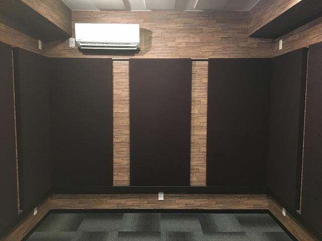戸建住宅にp-スタジオを防音改修工事