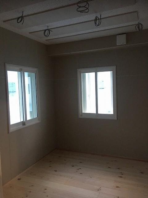 戸建住宅にピアノ・サックス室を新築ジョイント防音工事