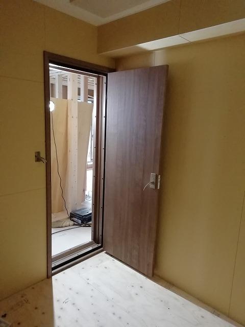 戸建住宅にトランペット室を新築ジョイント工事