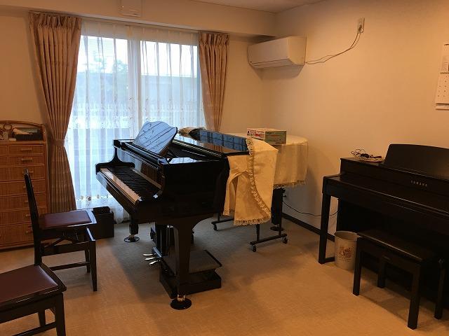 戸建住宅にピアノ教を室改修工事