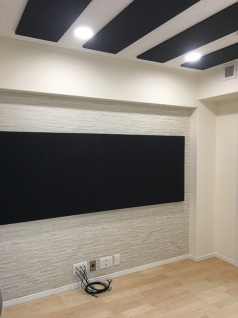 マンションにP-スタジオ+コントロール室を改修工事