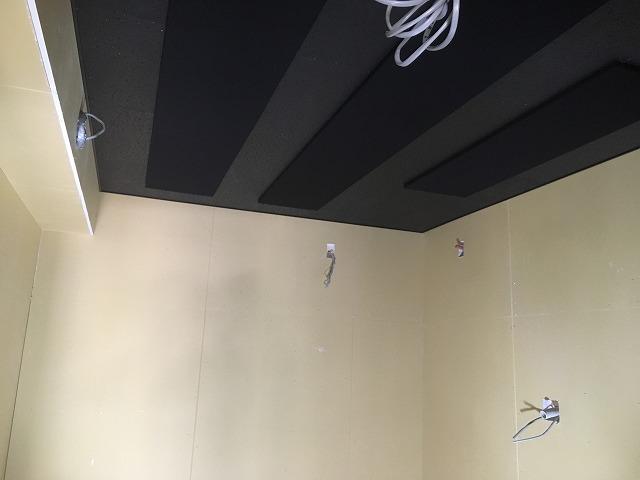 戸建住宅にエレキギター室を新築ジョイント工事