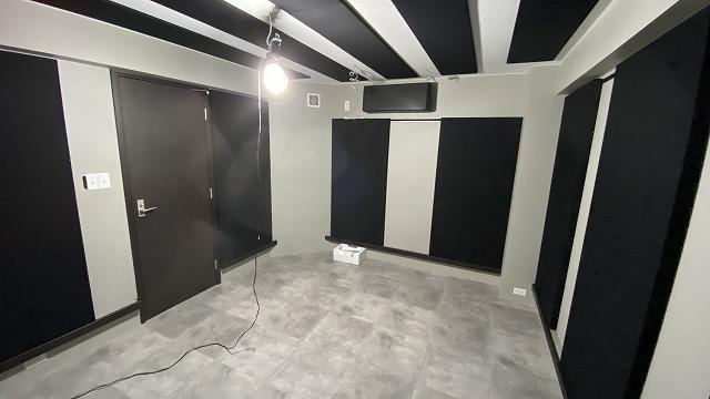 戸建住宅にドラム室をリフォームジョイント防音工事