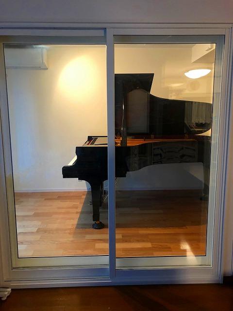 戸建住宅にピアノ教室を改修工事