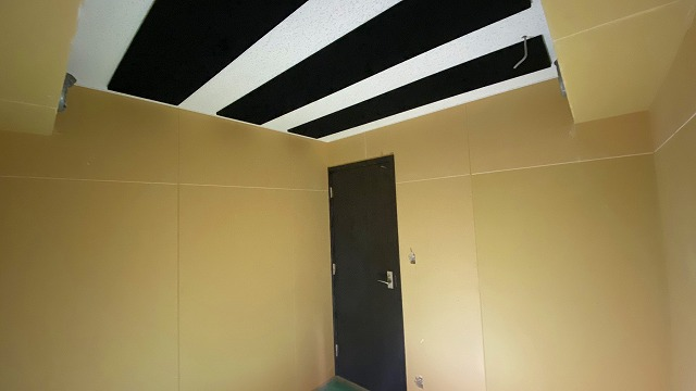 弊社の木工事が完了しました。 本体工事に引き継ぎ内装を仕上げて頂きます。 クロス施工後が楽しみです!