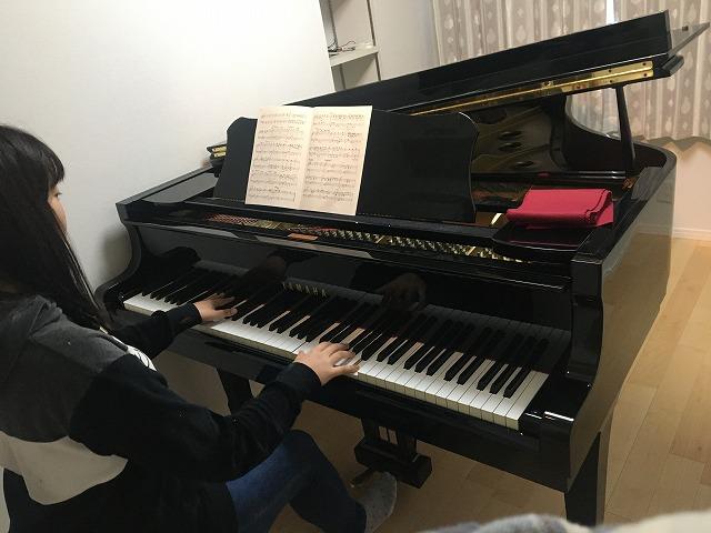 ピアノ搬入後のお写真を頂きました。 この度のご縁をありがとうございました。