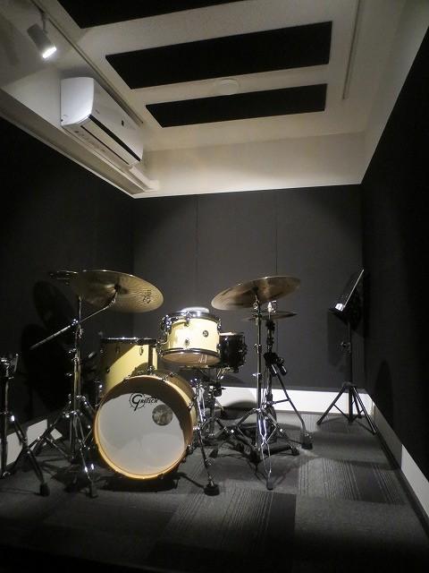 マンションにジャズドラム室を改修工事