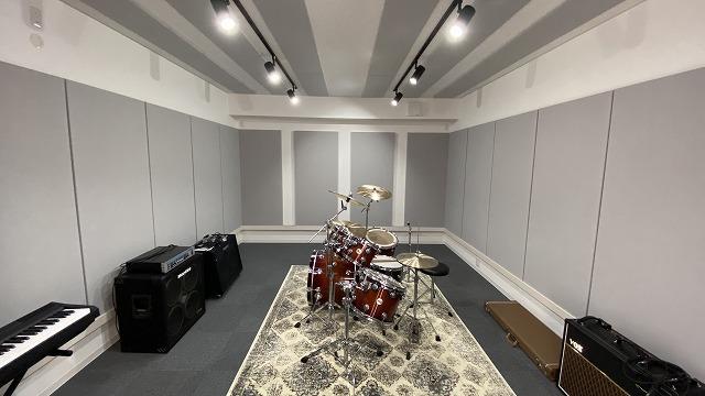 戸建住宅にバンド室を新築ジョイント工事