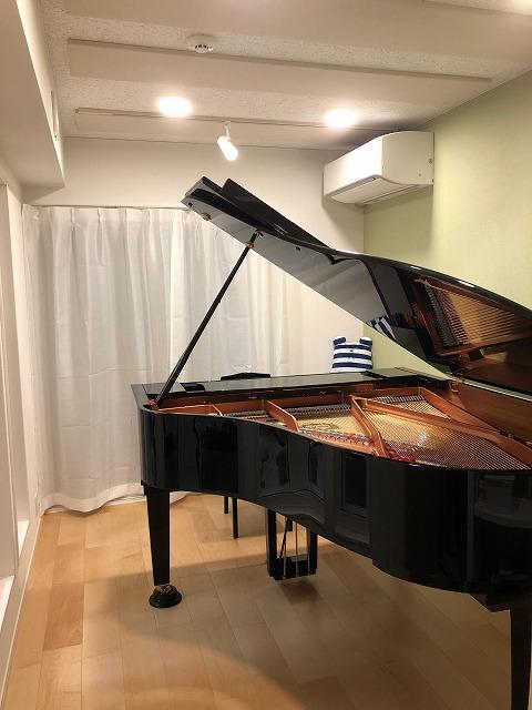 戸建住宅にピアノ室を改修工事