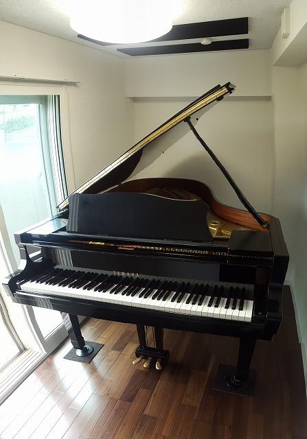 マンションにピアノ室を改修工事