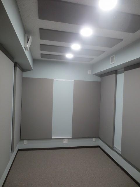 戸建住宅にエレキギター教室を改修工事