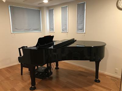 戸建住宅にバイオリン・ピアノ教室を改修工事