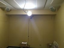 弊社の工事が完了です。 本体工事と一緒に内装の仕上げをして頂きます。