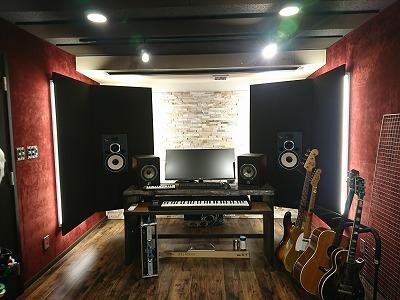戸建住宅にDTM・ギター室を改修工事
