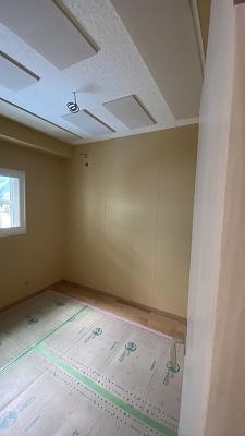 戸建住宅にトランペット・トロンボーン室を新築ジョイント工事