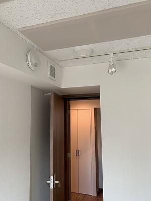 マンションにピアノ・ギター室を改修工事