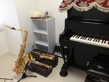 管楽器とピアノのセッションができる素敵なお部屋になりました。