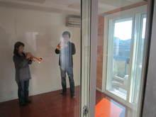 これにより外壁でDr-50dbの遮音性能が出ています。