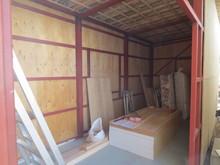 外壁を作り直し補強をしていきます。