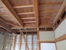 天井の解体完了です。