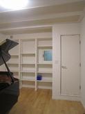 床の間と押入れが立派な楽譜棚に変身しました。