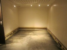 解体後、浮き床コンクリート仕様にしました。