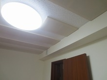 完成です。 とても日当たりのいい明るいお部屋です。