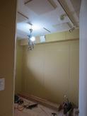 遮音壁・吸音天井ができあがりました。