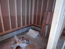 ハウスメーカさんから引き継ぎ、 ここから当社の施工が始まりました。