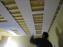 吸音天井を計画しています。