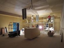 遮音壁が出来上がりました。 天井の遮音補強です。