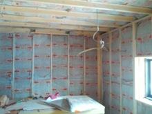 ハウスメーカーさんから引き継ぎ当社の施工が始まりました。