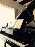 ピアノがはいりました。 お客様からいただいたお写真です。